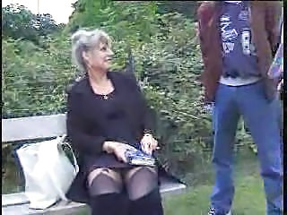 Crazy French Old Mature cheating