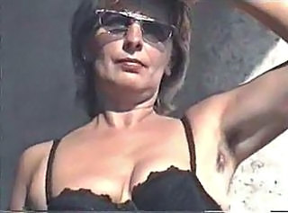 MARION from hairy Germany with unshaven Armpits 03