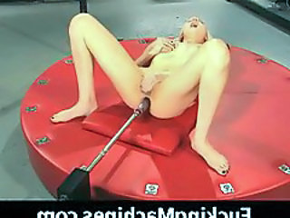 Incredibly hot anal machine sex and DP