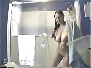 Spying My Sister In Bathroom. I Fancy Will not hear of Boobs