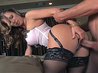 Mature milf in lingerie and stockings sex interesting