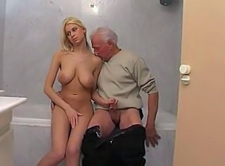 "Blond Babe Teen And Elderly Man"" target=""_blank"