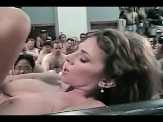 Sexy Pornstar Gets Hot Bukkake