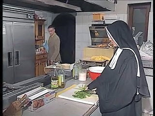 "German nun assfucked beside kitchen"" target=""_blank"