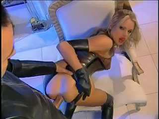 Briana has hot latex fetish...