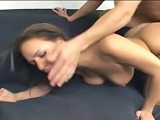 Big Titty Fuck Whore Mia Bangg Receives Her Pussy Filled With Dick Cream