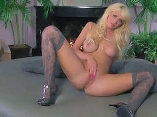 Casey James On Couch Finger Fucking Her Cunt