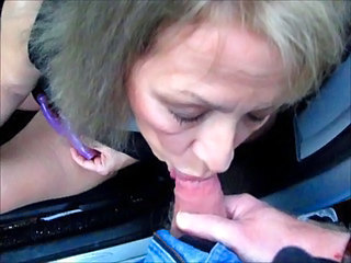 Pretty Mature Wife Sucks Cock...