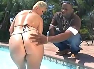 Big Juicy Booty Big Black Cock _: anal cumshots interracial