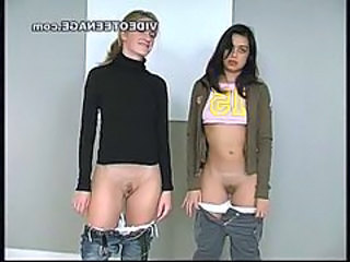 "Lesbian teens first flick casting"" target=""_blank"