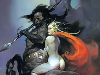 Erotic Fantasy Deceit 3 - Publicly Frazetta