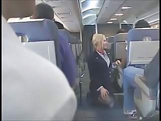 Flight Attendant Upskirt 3