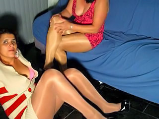 pantyhosed frontier fingers