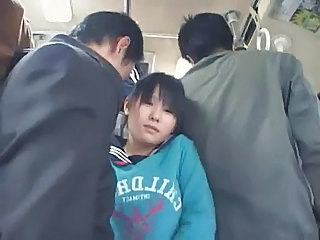 Schoolgirl Groped By Stranger In A Train