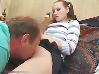 Young Mistress And His Slave - Pussy Weathering