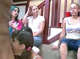 College blowjob party (1 of 3)