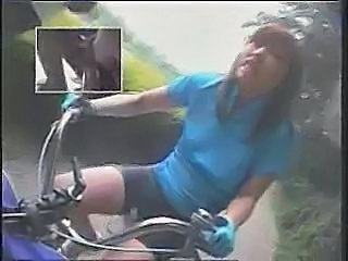 Riding dildo-bikes in public - xHamster.com