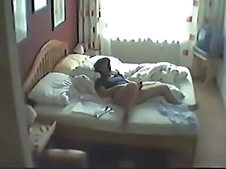 Autocratic hidden cam. My mum caught masturbating in bedroom