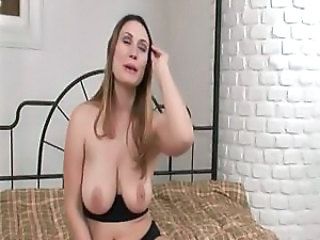 Geile Rucca is a naughty big-breasted broad who does some anal