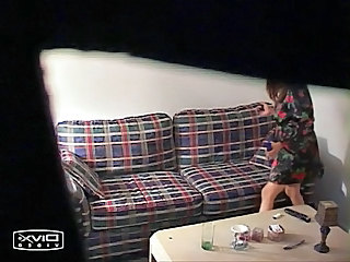 Go out of business cam catches asian girl chiefly couch