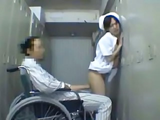 Nurse cute butt molested disabled patient