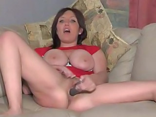 British MILF slut Penelope give a couple of solo scenes