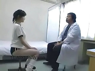 "Piggy doctor with asian schoolgirls"" target=""_blank"