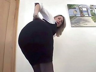 You like my ass in this dress?