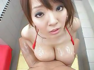 Big tits cute asian