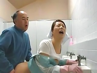 Oriental Doll Is Cleaning Tthis...
