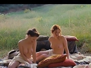 Christa Theret full frontal and Solene Rigot topless - Renoir (2012)