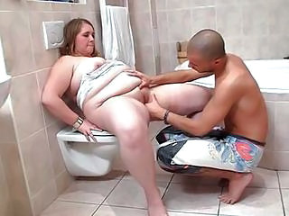 Horny Dude Poundes Chubby Inside...