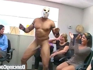 Dancingcock Group Office Cock Party