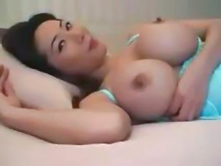 big tit asian girl sucking unaffected by huge cock