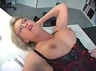 Mature Secretary fuckin manager on office