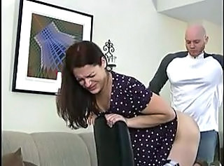 lazy wife spanked