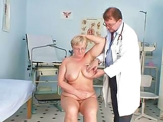 Fat Mature Radka Gets Real Send back Catechism By Kinky Gyno Docto