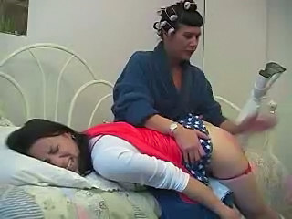 Sensational Girl Spanked