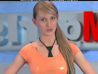 Olga Barz Russian Moskow Babe in arms Tv...