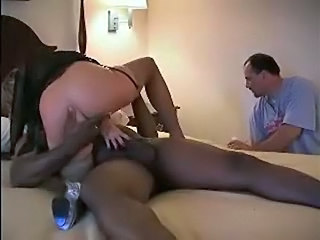 Hubby Plays With The Cum