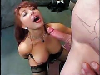 Red Head Milf Sucks A Close-fisted Dick
