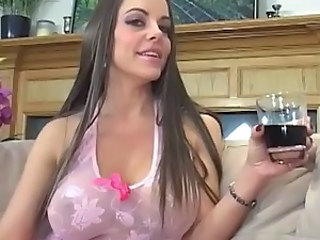Stepson has far sexual connection busty...