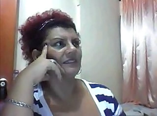 Colombian mature show enveloping chiefly cam (no sound)