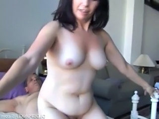 Gorgeous mature amateur loves almost fuck unconforming