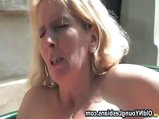 Blonde mature unfocused gets part6