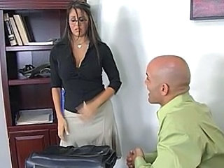 Hot milf mikayla mendex office mating