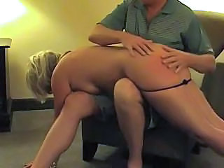 Hot Blonde Middle-aged Hooker Gets Her Ass Spanked And Fucked