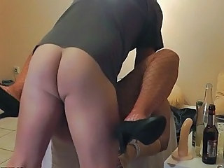 Piss Pig out on Wife