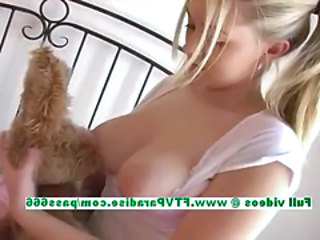 Alison superb busty peaches babe Hyperbolic sports jargon pulverize boobs and ID pussy