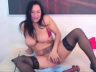 Unselfish Titties Yawning chasm Dildo Penetration HD